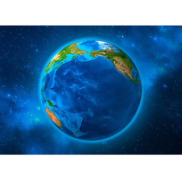 Earth Rotating - 3D Action Lenticular Postcard Greeting Card