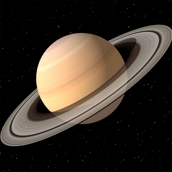 Saturn - 3D Lenticular Postcard Greeting Card - Maxi