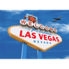 Las Vegas Sign by Day & Night - 3D Action Lenticular Postcard Greeting Card