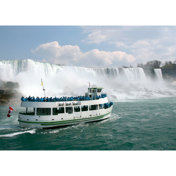 Niagara Falls - Maid of the Mist - 3D Lenticular Postcard Greeting Card