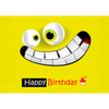 Happy Birthday -Happy Smile- 3D Action Lenticular Postcard Greeting Card