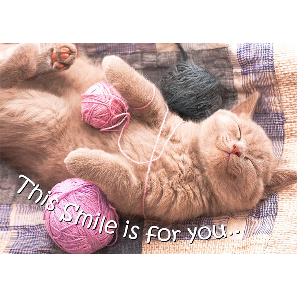 This Smile Is For You - 3D Action Lenticular Postcard Greeting Card