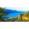 Crown Point and Columbia River Gorge - 3D Action Lenticular Postcard Greeting Card - Oversize
