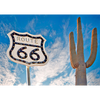 Route 66 - 3D Action Lenticular Postcard Greeting Card
