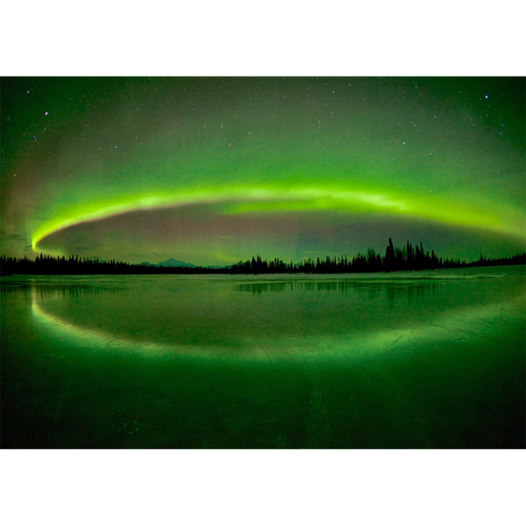 Aurora Borealis #3  - 3D Action Lenticular Postcard Greeting Card