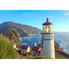 Heceta Head Lighthouse - 3D Action Lenticular Postcard Greeting Card
