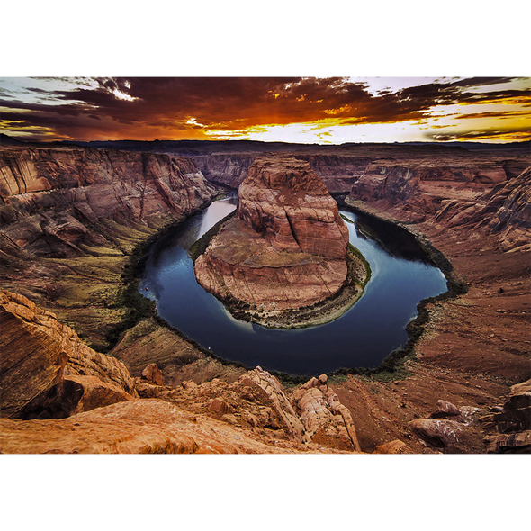 Horseshoe Bend, Arizona - 3D Lenticular Postcard Greeting Card