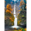 Multnomah Falls, Oregon- 3D Lenticular Postcard Greeting Card