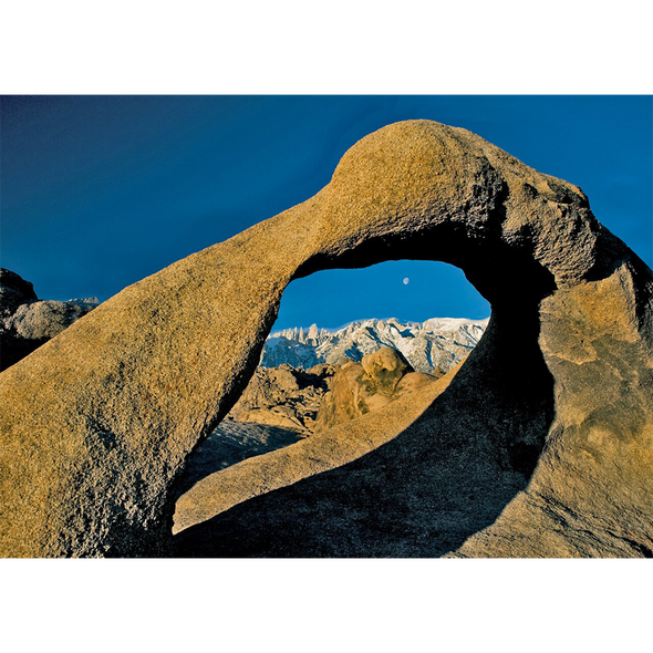 Mobius Arch and Sierra Nevada - 3D Lenticular Postcard Greeting Card