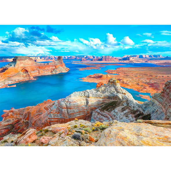 Lake Powell - 3D Lenticular Postcard Greeting Card