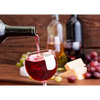 Wine glass filling with Red Wine - 3D Action Lenticular Postcard Greeting Card