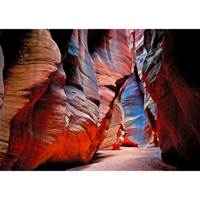 Antelope Canyon - 3D Lenticular Postcard Greeting Card