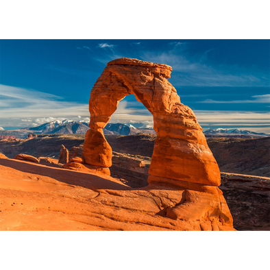 Arches National Park - Utah Delicate Arch- 3D Lenticular Postcard Greeting Card
