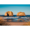 Twin Rocks near Rockaway Beach - 3D Action Lenticular Postcard Greeting Card