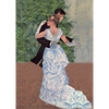 Pierre-Auguste Renoir - Dance in the City - 3D Lenticular Postcard Greeting Card