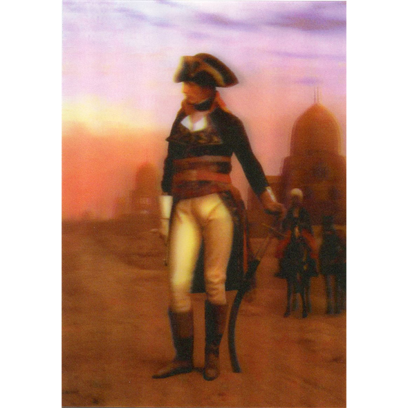 Jean Leon Gerome - Napoleon in Egypt - 3D Lenticular Postcard Greeting Card