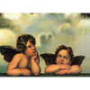 Raffael - Angels - 3D Lenticular Postcard Greeting Card