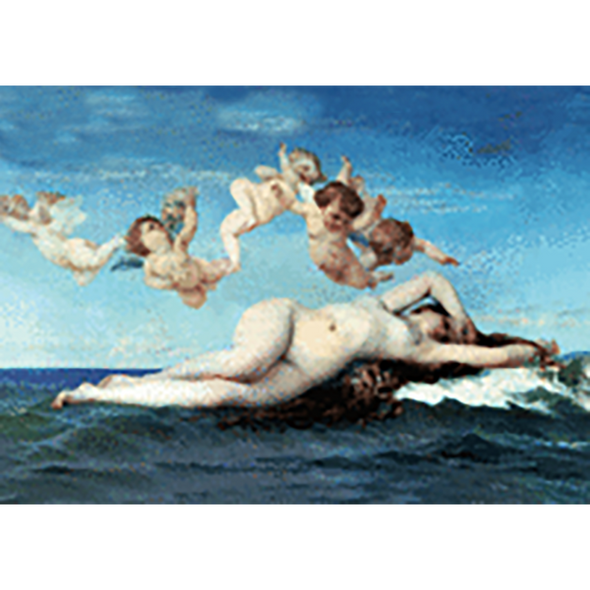 Alexandre Cabanel - The Birth of Venus - 3D Lenticular Postcard Greeting Card
