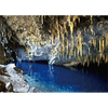 Flowstone Cave - 3D Lenticular Postcard Greeting Card
