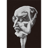 Metamorphic Head - 3D Lenticular Postcard Greeting Card