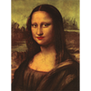 DaVinci - Mona Lisa - Kissing and Blinking - 3D Action Lenticular Postcard Greeting Card