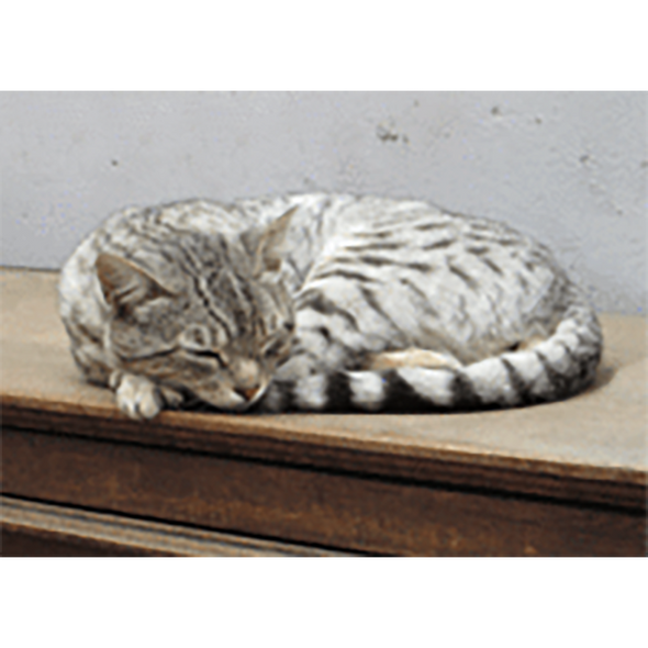 Sleeping Cat - 3D Action Lenticular Postcard Greeting Card