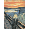 "Munch's ""The Scream"" - 3D Action Lenticular Postcard Greeting Card"