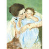 Mary Cassatt - Mother and Child & Banjo Lesson - 3D Action Lenticular Postcard Greeting Card