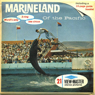 Marineland - of the Pacific - A188 - Vintage Classic View-Master - 3 Reel Packet - 1960s Views