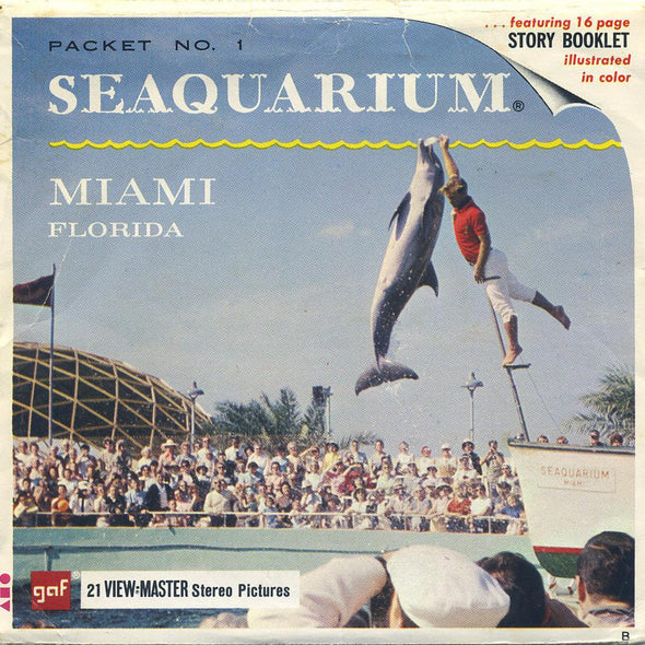 View-Master - Scenic South - Seaquarium Miami Florida
