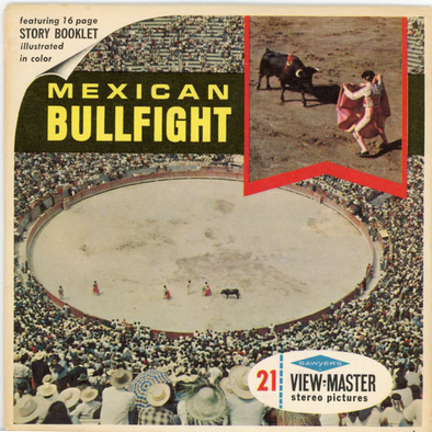 ViewMaster - Mexican Bullfight - Mexico