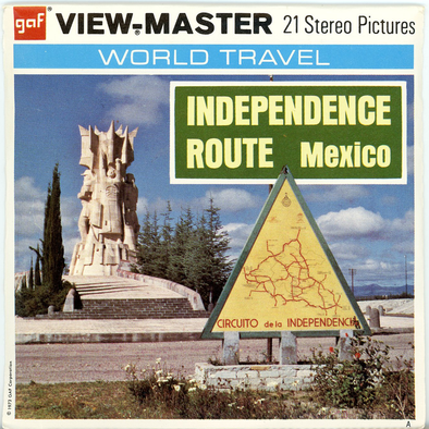 View-Master - Mexico - Independence - Route
