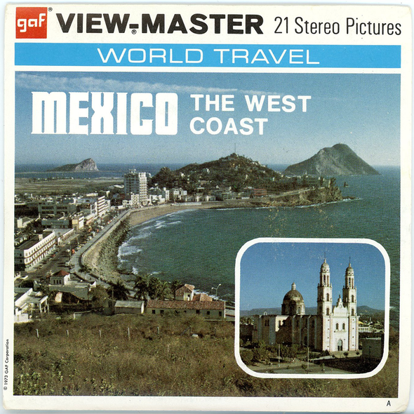 View-Master - Mexico - The West Cost