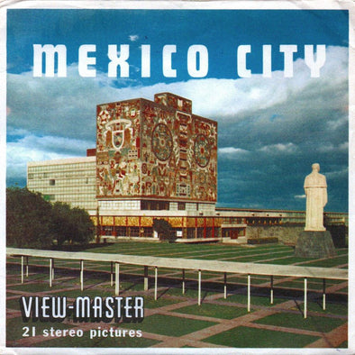 ViewMaster - Mexico City - B002 - Vintage - 3 Reel Packet - 1960s views