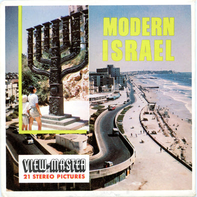 ViewMaster - Moder Israel - Mid East