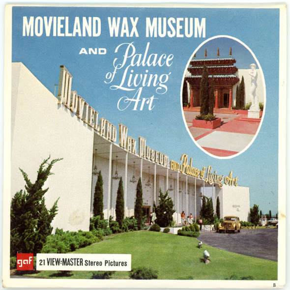 View-Master - Scenic West - Movieland Wax Museum