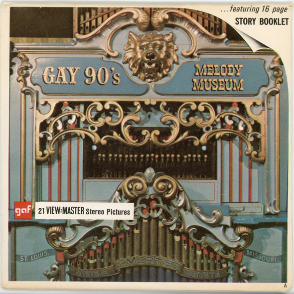View-Master - Museum - Gay 90's Melody Museum
