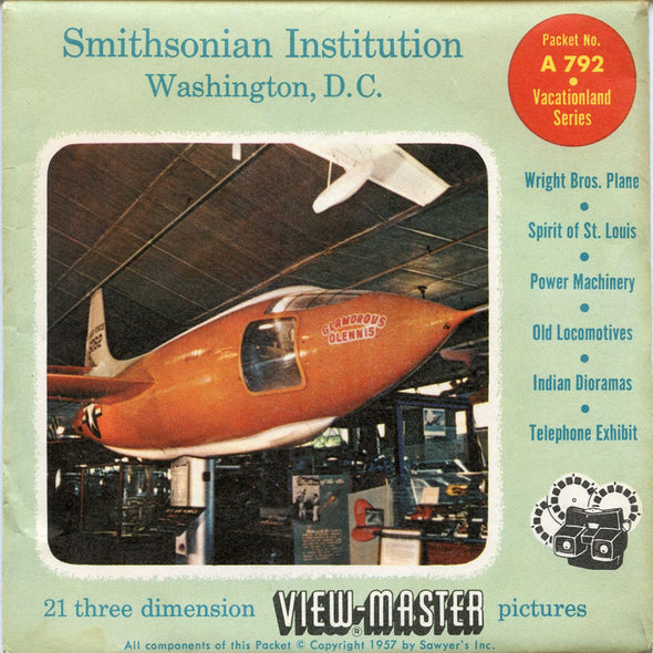 View-Master - Scenic - East - Smithsonian Institution Washington, D.C.