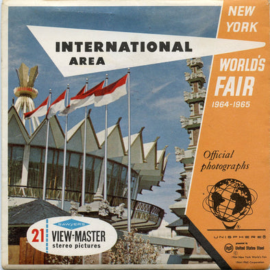 ViewMaster - World's Fair - International Area
