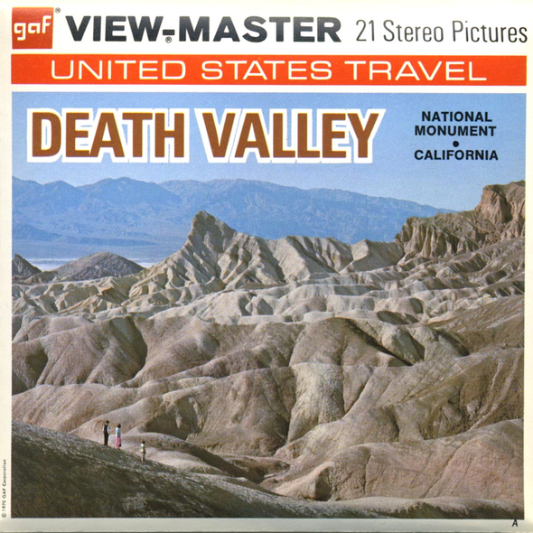 View-Master - National - Parks - Death Valley
