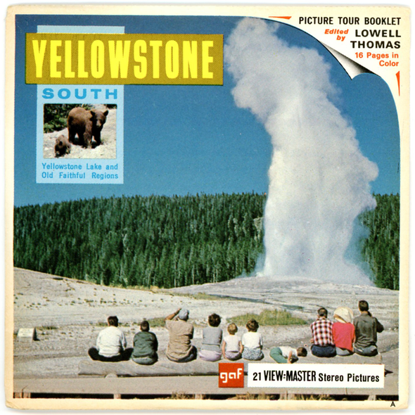 View-Master - National - Parks - Yellowstone