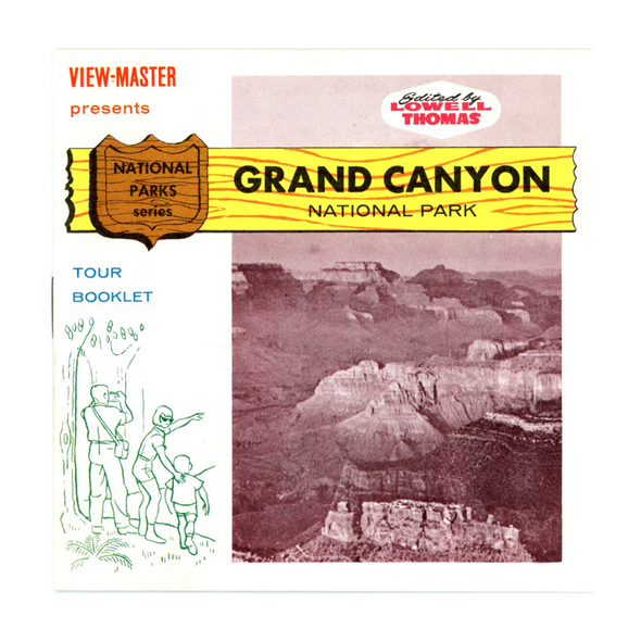 ViewMaster - Grand Canyon - A361 -  Vintage - 3 Reel Packet - 1960s views