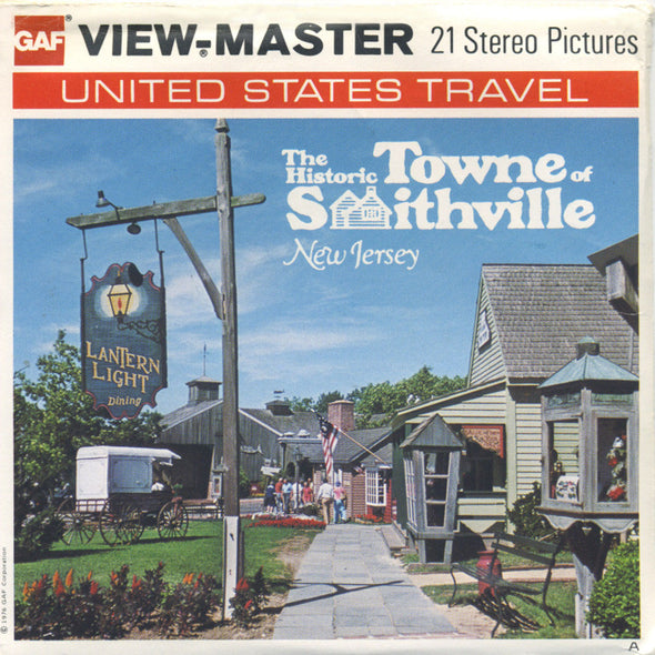 View-Master - Scenic - East - The Historic Towne of Smithville