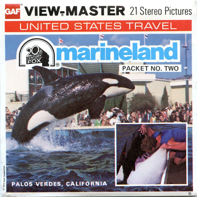 Marineland  - Palos Verdes, California - Packet no. Two - A199 - Vintage Classic View- MASTER - 3 Reel Packet - 1970s Views