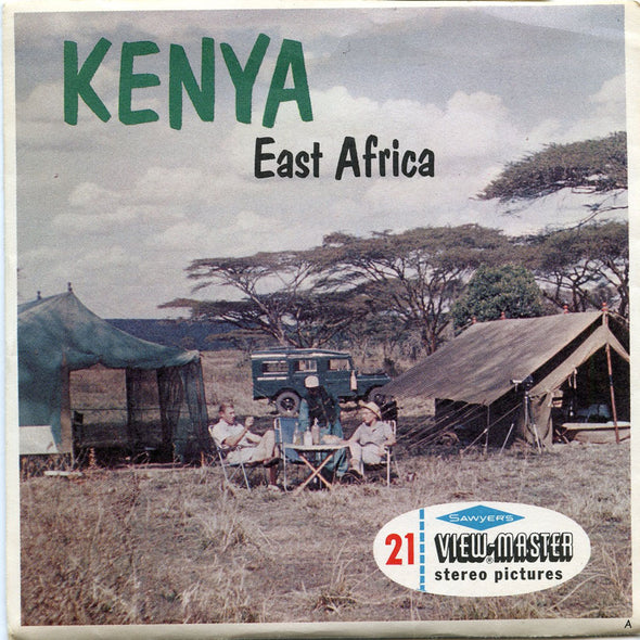 View-Master - Africa - Kenya East Africa