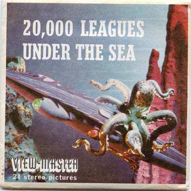 View-Master - Disney Movies - 20,000 Leagues Under the Sea.