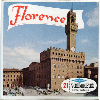 View-Master - Italy - Florence
