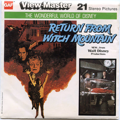 View-Master - Disney Movie - Return from Witch Mountain