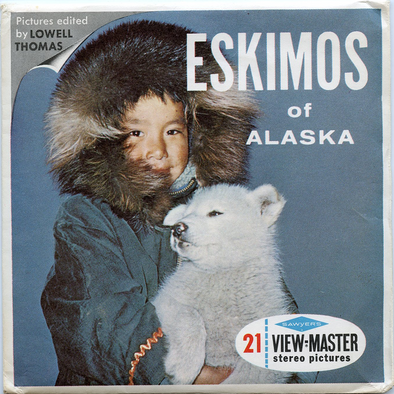 View-Master - Scenic Alaska-Hawaii - Eskimos of Alaska