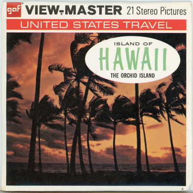 View-Master - Scenic Alaska-Hawaii - Island of Hawaii